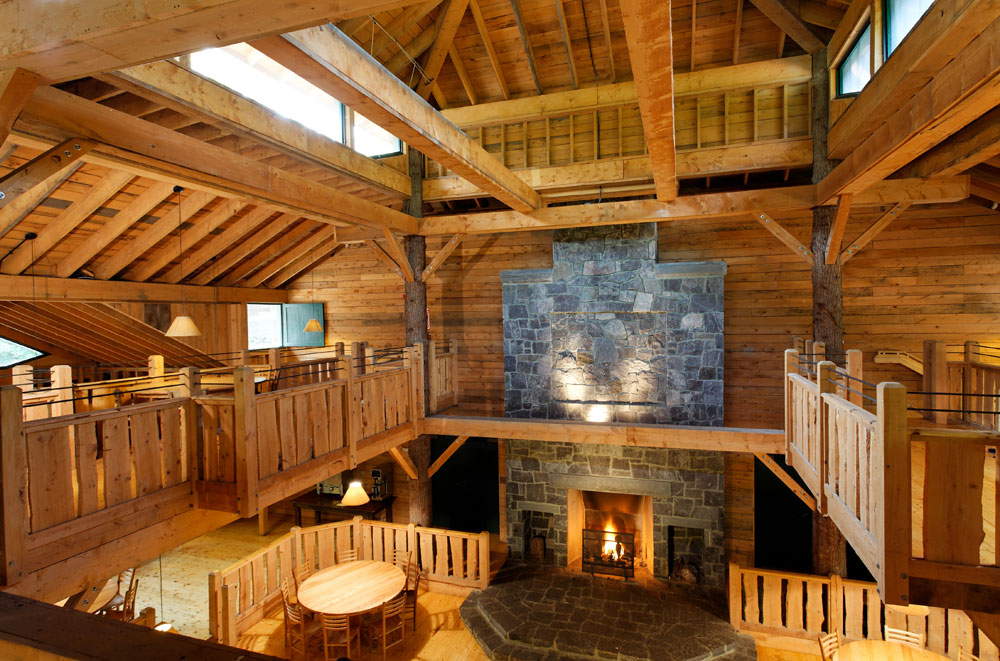 John Huling Photography Brown Ledge Interior Lodge
