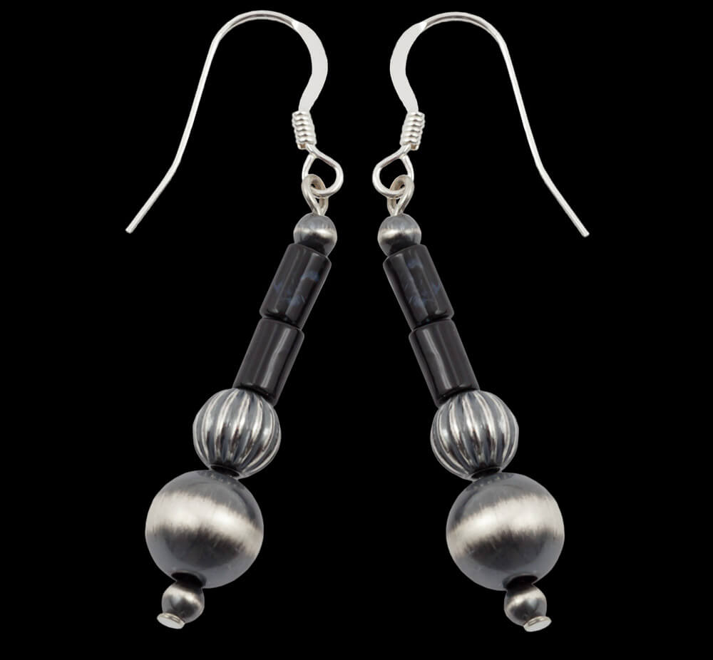 Aluminum Blackstone Earrings